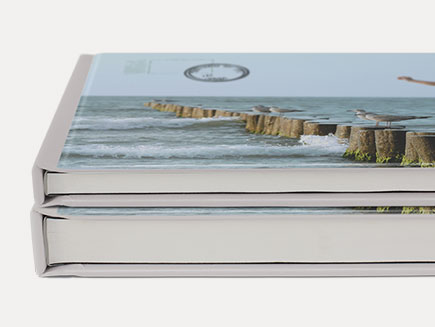 Varied sizes of photobooks