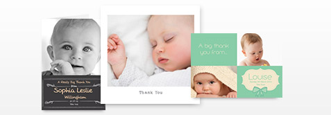 Birth Thank You Cards