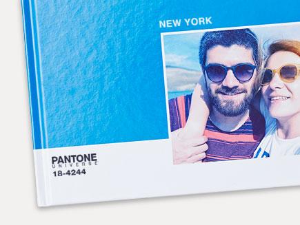 Livre Photo Pantone en couleur Bleu Directoire