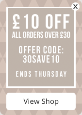 £10 off orders over £30