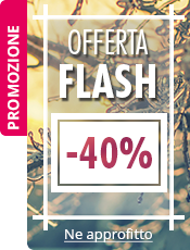 VENDITA FLASH -40% su una selezione di articoli