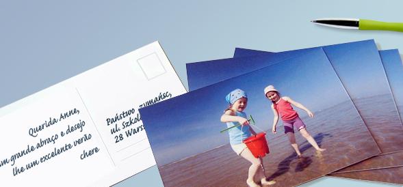 Crie seus proprios cartões-postais