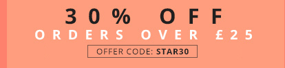 30% OFF orders over £25