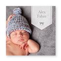 Kort Fødsel og Barnedåb