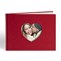 A4 Love Heart Book