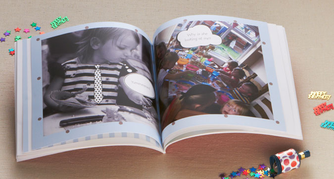 Square Softcover Photo Book'