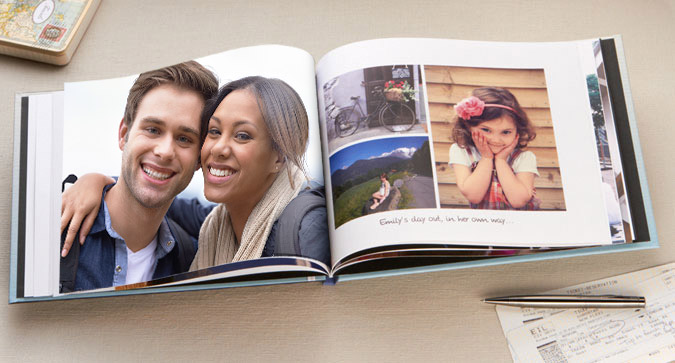 A4 Personalised Photo Book