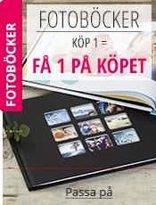 Fotoböcker Köp 1 = Få 1 PÅ KÖPET !