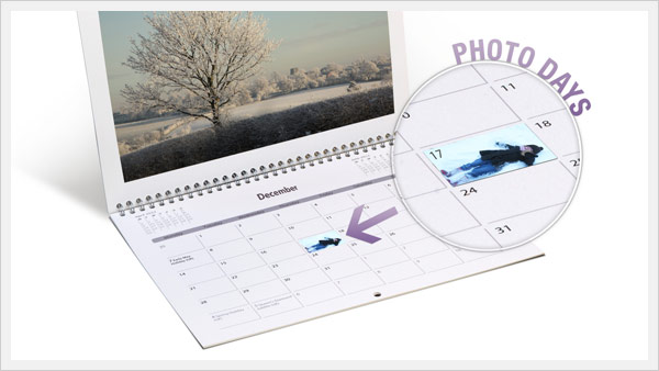 A3 Double Page Photo Days