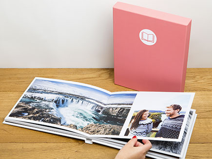 A4 Pro Lay Flat Book with presentation box