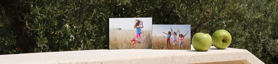 Photo desk canvases