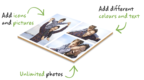 Collage Hardback Poster Prints