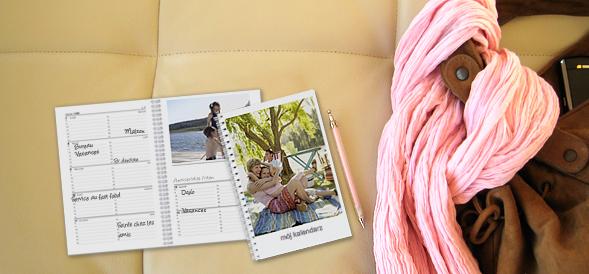 Agenda foto personalizada : um ano completo em fotos !