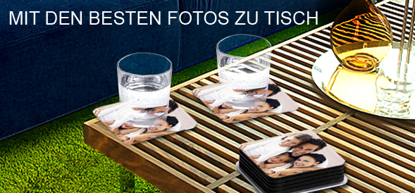 glas untersetzer mit eigenem foto photobox. Black Bedroom Furniture Sets. Home Design Ideas