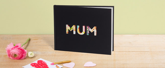 Mother's day photo book