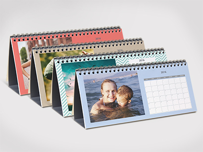 Calendrier De Bureau Photobox