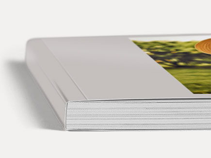 Personalised photobook cover and spine