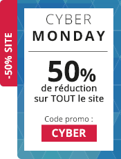 Cyber Monday 50% de réduction