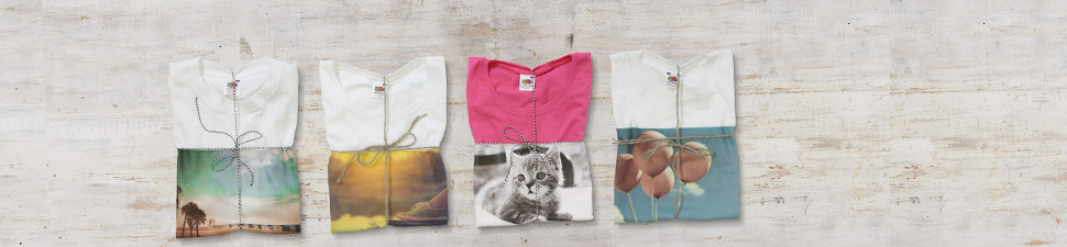Photo printed clothing and t-shirts