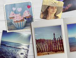 Personalised products for Instagram photos