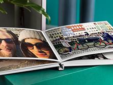 Square Lay Flat Photo Books – Premium Hardcover
