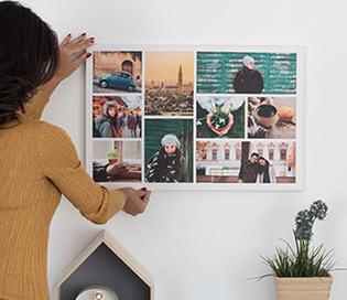 collage fotos - regalo para novio