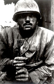 Don McCullin, Shell Shocked Soldier, Hue, 1968