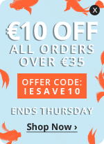 €10 OFF all orders over €35
