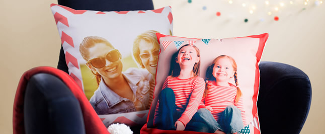 mother's day photo cushion