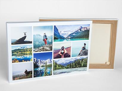 pick your collage canvas size photobox