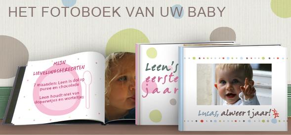 Baby Fotoalbum Het Eerste Jaar Van Je Baby Photobox