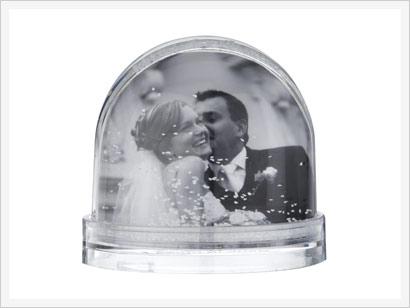 Snow Globes Personalised Snow Globe Photobox