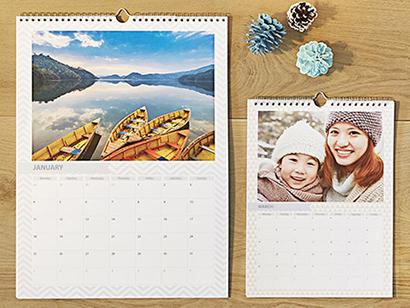 a3 and a4 wall calendar photobox