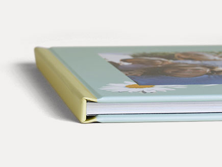 Hardcover photo album