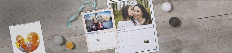 Ihr persönlicher Fotokalender für die Wand oder den Schreibtisch und personalisierbare Terminkalender