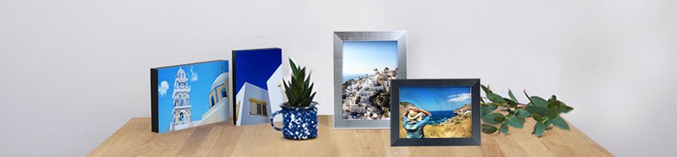 Photo desk canvases