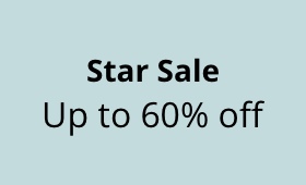Star Sale Up to 60% off