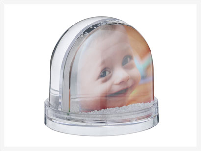 Snow Globes Personalised Snow Globe Photobox