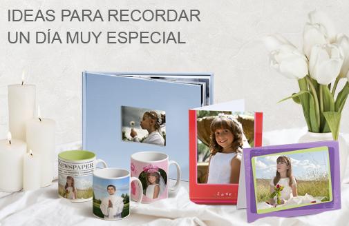 Tienda especial comuni n ideas foto regalo personalizados - Ideas originales para comuniones 2015 ...