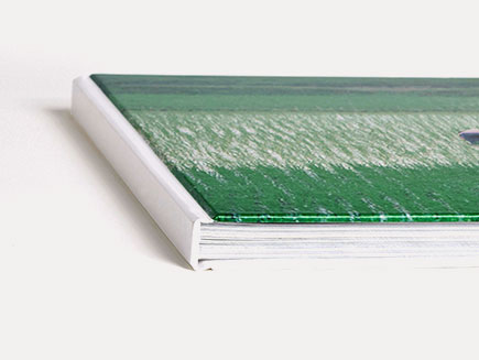 Gloss covered photo book