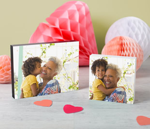 mother's day photo block