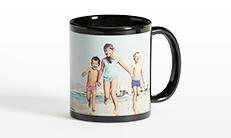 Black Personalised Mug