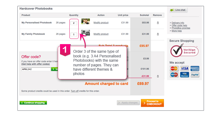 Using Discount Codes at PhotoBox. Throughout the year, PhotoBox provides offer codes which enable its customers to make substantial savings at its online store at utorrent-movies.ml These often require you to buy a specific number of items, or buy from certain ranges. If you have an offer code, here's how to use it.