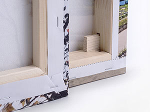 Bastidor de madera