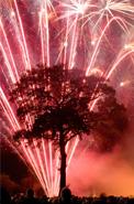 Framing fireworks