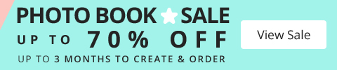 Photo Book Star Sale - up to 70% OFF