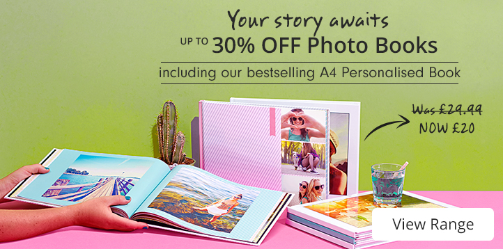 up to 30% off Photo Books