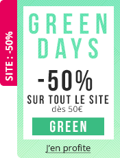 Green Days 50% de réduction