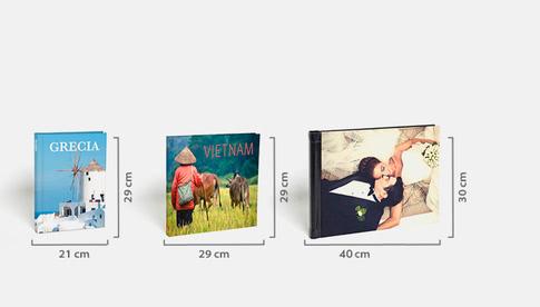 Classic (21x29cm) Maxi (29x29cm) Premium (40x30cm)