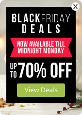 Black Friday Deals - up to 70% OFF